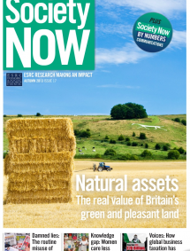 SOCIETY NOW – Autumn 2013