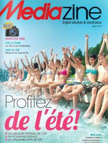 MEDIAZINE – Juillet 2013