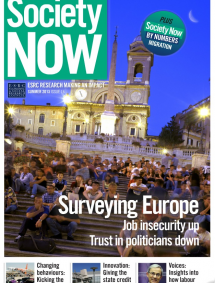 SOCIETY NOW – Summer 2013