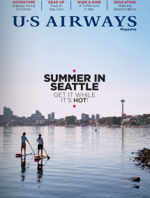 U.S AIRWAYS MAGAZINE – August 2013
